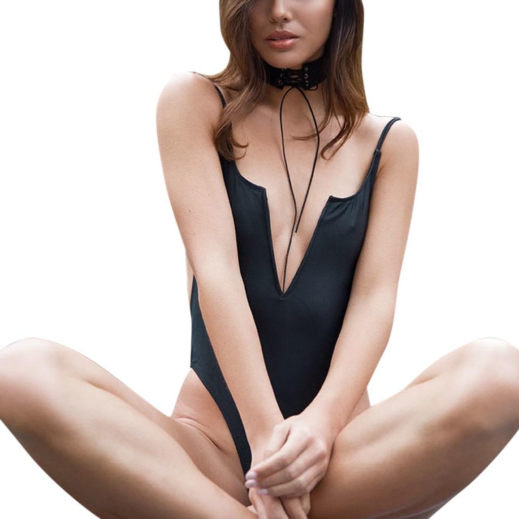 Fijn Jaycosin 2019 Zomer Vrouwen Badmode Mode Sexy Jumpsuit Push-up Bh Bikini Een Stuk 18dce5