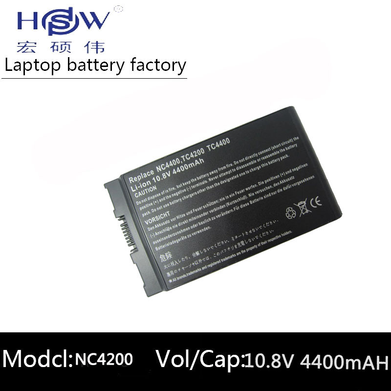6cells battery forHP Compaq Business Notebook 4200 NC4200 NC4400 TC4200 TC4400 HSTNN-IB12,HSTNN-UB12,PB991A