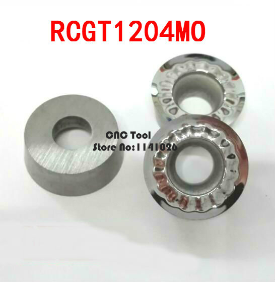 Free Shipping Aluminum Carbide Insert RCGT1204MO, CNC Lathe Tool, Suitable For Aluminum Processing, Insert EMR-5R