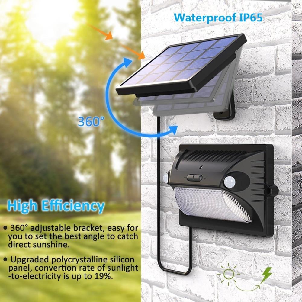 de movimento sensing 5 modos ajustavel painel solar 03