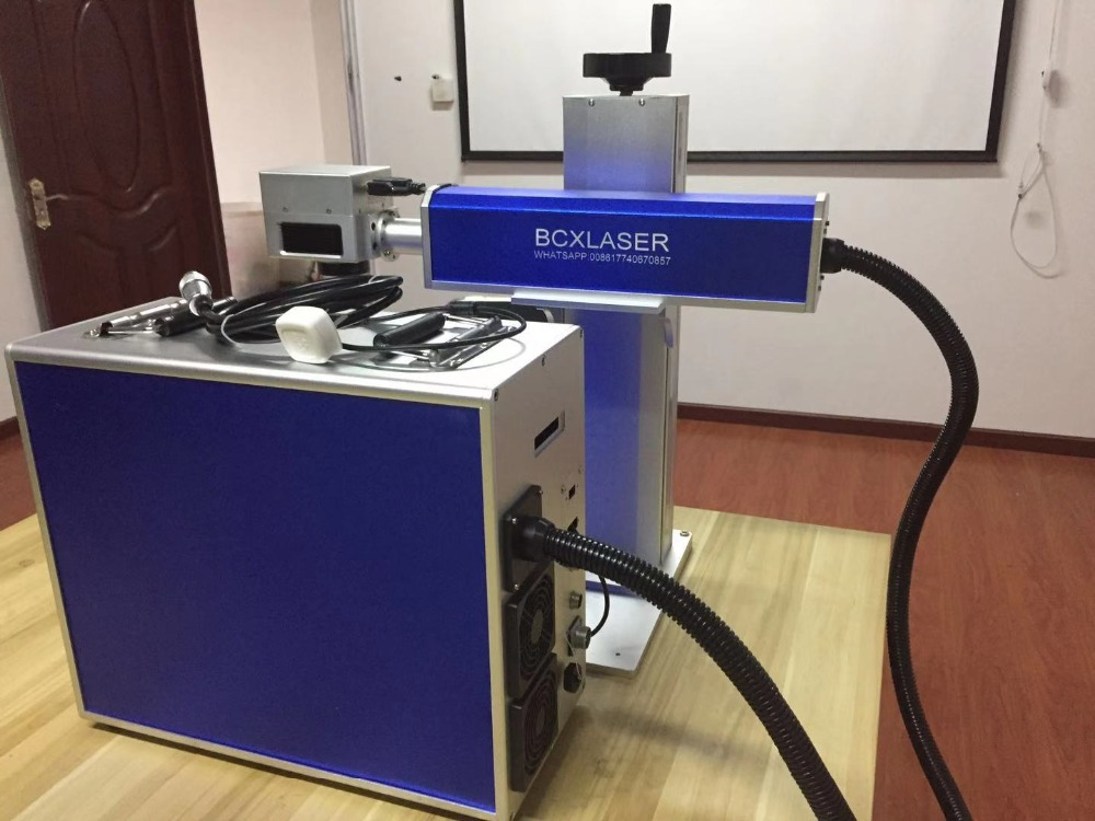 Discount 30W Fiber Laser Marking Machine for metal stainless steel glasses frame with CE|Wood Routers| |  - title=