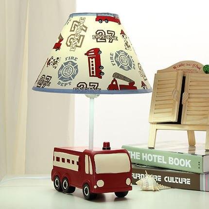 Mignon Camion De Pompiers De Bande Dessinee Creative Enfants Chambre