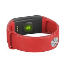 № 1 SmartBand F1 водонепроницаемый артериального давления наручные часы для взрослых модные резиновые смартфон браслет монитор сердечного ритма