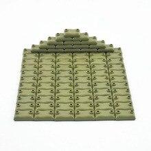 잠금 블록 10 개/대 군사 MOC Sandbag WW2 세트 판매 빌딩 블록 어린이위한 장난감 육군 SWAT 블록 장난감을 조립
