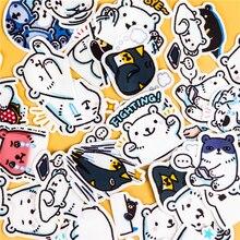 40 pcs Criativo Japonês kawaii urso diário scrapbooking adesivos/adesivos decorativos/DIY artesanato álbuns de fotos/Crianças