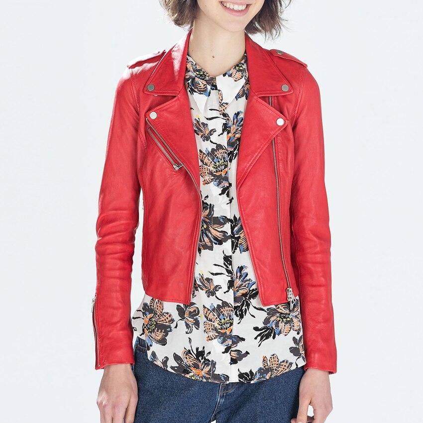 Aliexpress.com : Buy leather jacket women 2016 spring ...