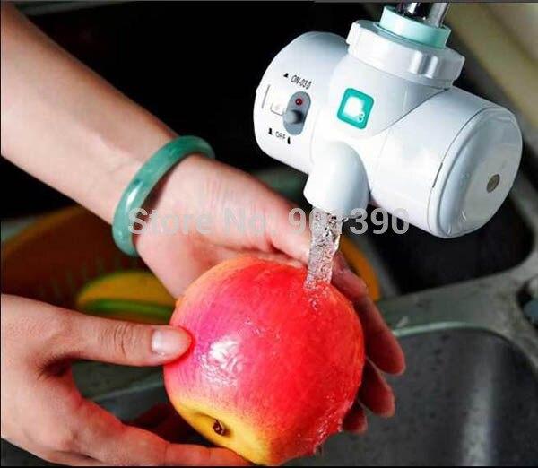 Self-Powered воды O3 Озонатор Бытовой Кран Водопроводной Воды Фильтр Очиститель Мыть Фрукты Овощной Лицо Стерилизатор, Озонатор