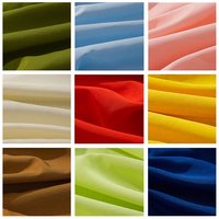 75D Solid Color Imitation Slub Linen Chiffon Fabric Polyester Fabric For Lining Garment Fabric Sewing Accessories