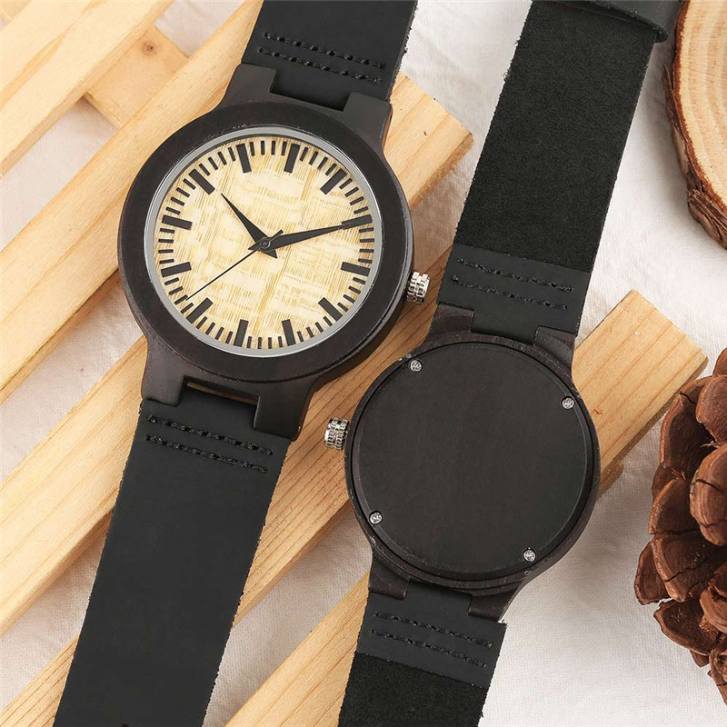 1f6180b5af4 YISUYA Wooden Quartz Watches Women Men Lover Anniversary Couple Watch Gift  For Lovers-in Lover s Watches from Watches on Aliexpress.com