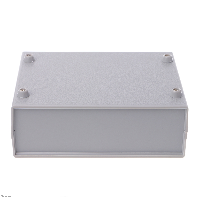 Plastic Electronic Project Box Enclosure Instrument Shell Case DIY 130x170x55MM Damom