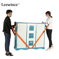 Leewince Forearm Forklift Lifting Moving Strap Transport Belt Wrist Straps Furniture For Home Move House Convenient