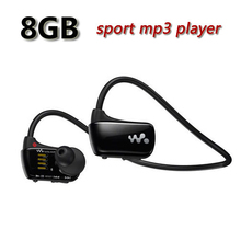 Envío Gratis W273 Deporte reproductor de Mp3 para sony auriculares 8 GB NWZ-W273 Walkman Correr auriculares reproductor de Mp3 auriculares
