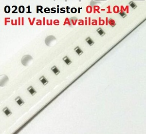 500PCS/lot SMD Chip 0201 Resistor 750R/820R/910R/1K/1.1K 5% Resistance 750/820/910/Ohm 1/1.1/k Resistors 1K1 Free Shipping