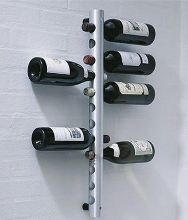 Us 19 2 52 Off Free Shipping Brand New 8 Holes Vertical Wine Racks Holder Metal Bottle Rack Coolers Holders Buckets Barware In