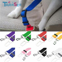Transer Pet Cat Dog Safety Vehicle Car cachorro Seat Belt mascotas dog Seatbelt Harness Lead Clip Levert Dropshipping 11Feb5