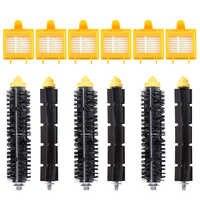 6 Hepa Filters 3 Bristle Brushes 3 Flexible Beater Brushes for iRobot Roomba 700 Series 760 770 780 790 Robotic Vacuum Cleaner