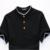 De gran tamaño estupendo solid men polo camisa de algodón marca 6xl 5xl ropa polo homme 3 color blanco negro de manga corta camisa polo 2017