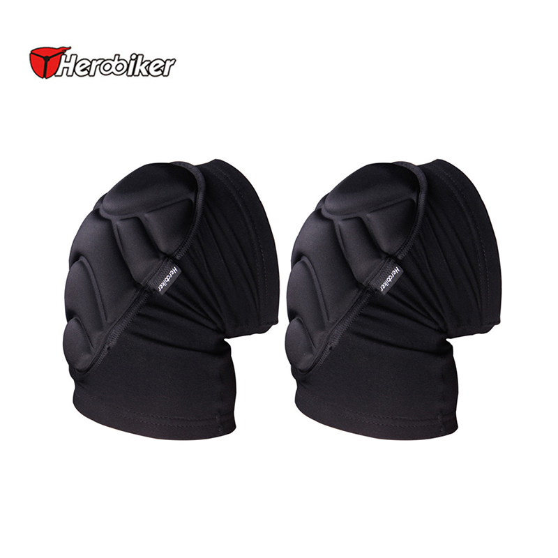 Herobiker Soft Motorcycles Football Volleyball Extreme Knee <font><b>pads</b></font> Sports Eblow Brace Support Lap Protect Cycling Knee Protector