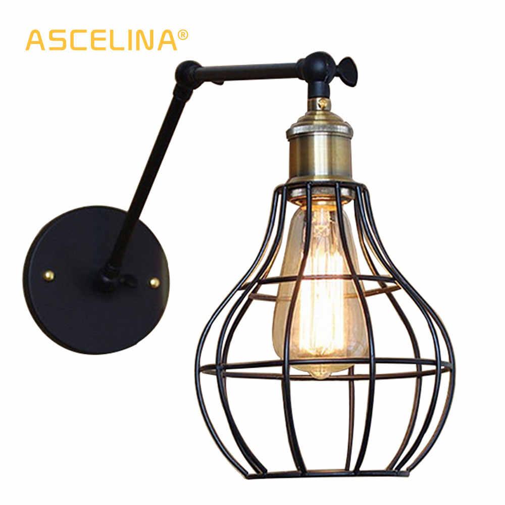 Настенный светильник винтажный настенный светильник Промышленный настенный светильник Американская страна Бесплатная доставка гостиная столовая спальня освещение