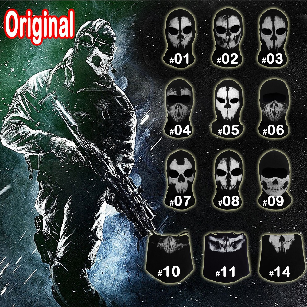 Popular Ghost Balaclava-Buy Cheap Ghost Balaclava lots from China ...