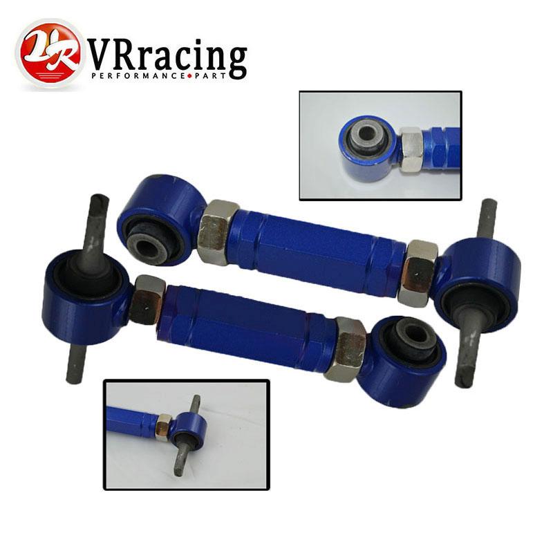 VR RACING - REAR ADJ.C ARM FOR HONDA CIVIC 92-00 INTEGRA EG REAR ADJUSTABLE CAMBER ARMS KIT VR9802