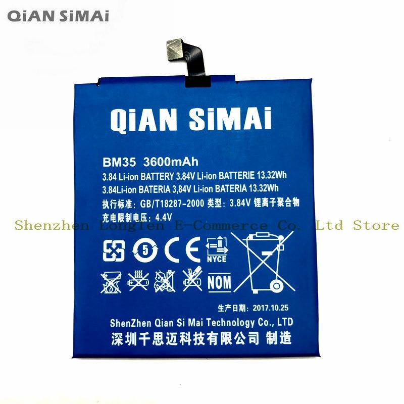 Цянь Симаи 1 шт. 100% Высокое качество <font><b>bm35</b></font> 3600 мАч литий-ионный Батарея Для Сяо Mi 4c Mi 4c мобильного телефона Бесплатная доставка + код отслеживания