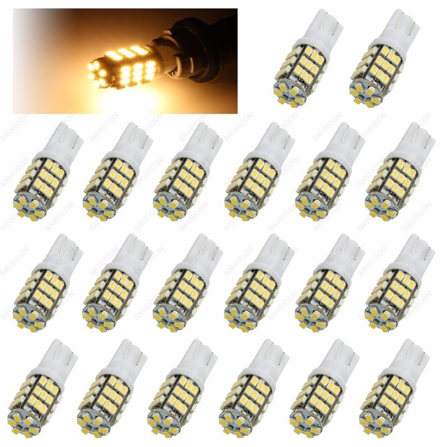 42 smd t10 168 12v led replacement light bulbs t15 921 912 906 extra42 smd t10 168 12v led replacement light bulbs t15 921 912 906 extra bright led (10 pieces) (warm white)