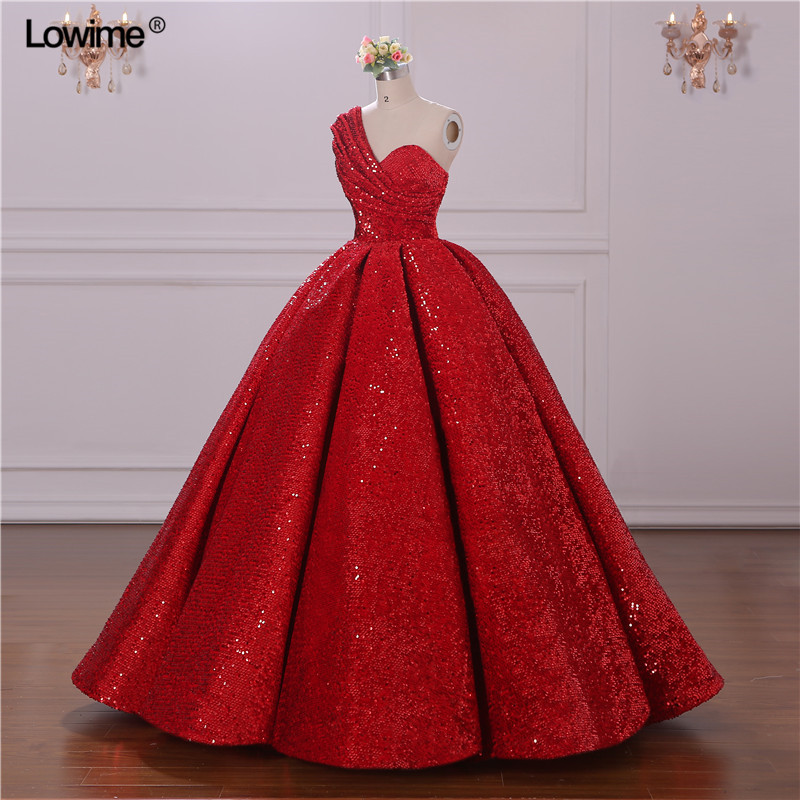 Real Photo Ball Gown Evening Dresses Dubai Turkish Arabic Aibye Prom Gowns Galajurk Sequins Formal Party Abendkleider Dress (6)