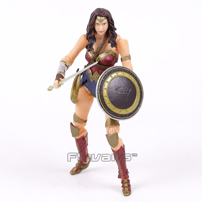 Crazy Toys Wonder Woman 1/12 TH Scale PVC Figure Collectible Model Toy 16cm 1 6 scale model metal gear solid v the phantom d dog diamond dog about 23cm collectible figure model toy gift