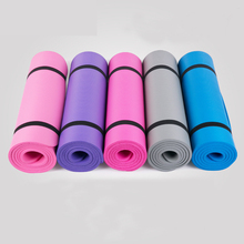 10mm Thick 5 Color EVA Yoga Mat Non-Slip Body Building Health Lose Weight Exercise Gym Household Cushion Fitness Pad