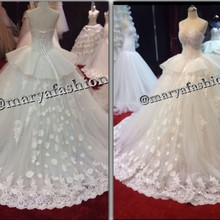 SexeMara Arabian Design Wedding Dresses Bridal Gown