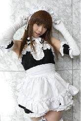 Lolita maid cosplay anime clothes convention Cosplay costumes Free shipping