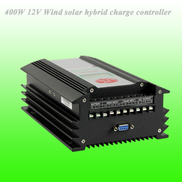 2018 Hot Selling 400W 12V PWM Wind Solar Hybrid Controller With LED Display & Remote Communication Function