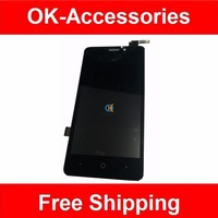 100 High Quality For ZTE N9132 LCD Display Touch Screen Digitizer Assembly Black Color 1PC Lot