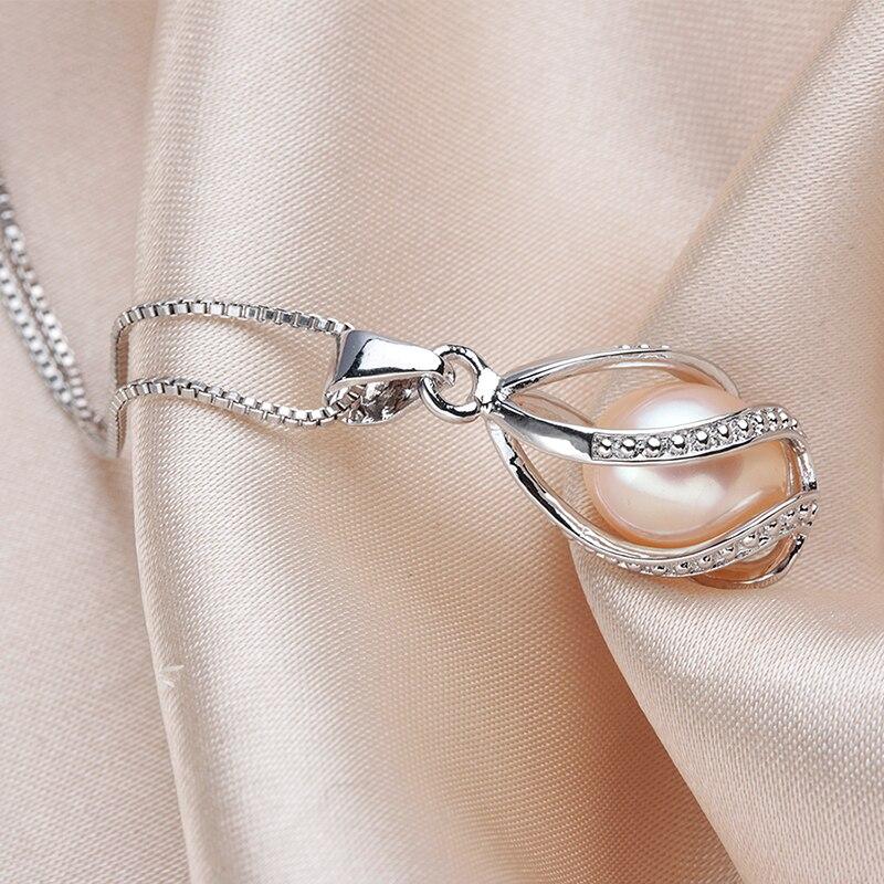 YIJIA Classic Հատուկ ձևավորում 8-9 մմ բնական - Նուրբ զարդեր - Լուսանկար 5