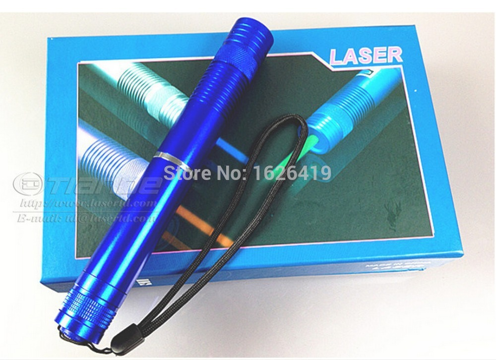 New Focusable High Power Blue Laser Pointer 5000mw 5w
