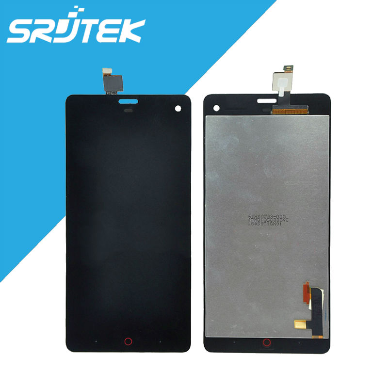 NEW Original 5.0 for ZTE Nubia Z7 mini Touch Screen Digitizer Glass with LCD Display Panel Full Assembly Replacement Parts