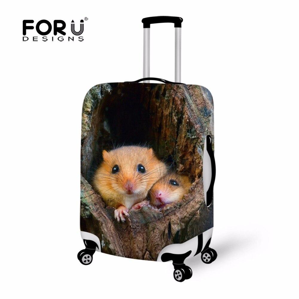 FORUDESIGNS чехол на чемодан багаж, мышь чемодан чехол для чемодана эластичный, чехол на чемодан для путешествия, чехол для чемодана защитный стрейч, чехол на чемодан на колесиках, чехол для чемодана распродажа
