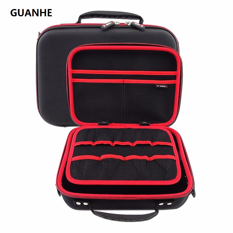 GUANHE IT 3.5 Inch Multi-functional Waterproof External VR case Bag for WD seagate External Hard Drive Case Pack Headset