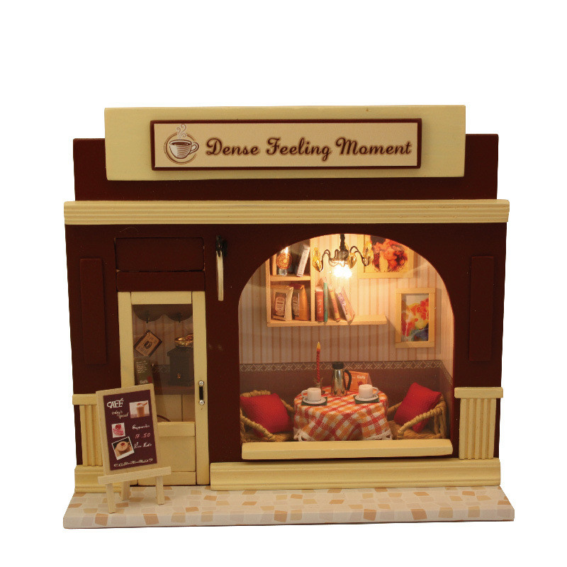 Diy Dence Feeling Moment Wooden Dollhouse Europe Shop