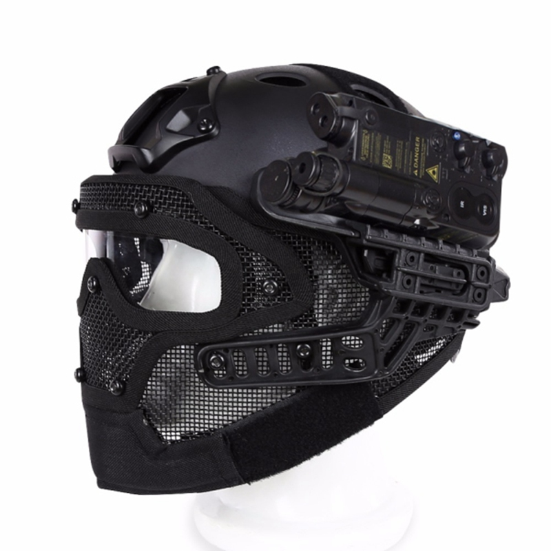 Здесь продается  Motor Full Face Helmet Protective Casque For Motorcycle Tactical Military Training 4 Colors Engineering Materials  Автомобили и Мотоциклы