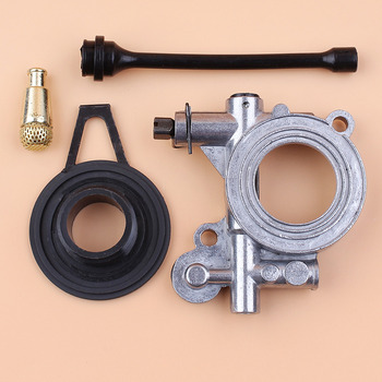 Oil Pump Worm Gear Oil Hose Filter Kit For HUSQVARNA 365 371 372 372XP 362 Chainsaw Spares Parts fengshou mfs354 tractor parts the gear pump cbn e314 details as descriptions