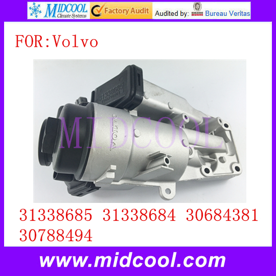 New Oil Filter Housing OEM 31338685 31338684 30684381 <font><b>30788494</b></font> for Volvo image