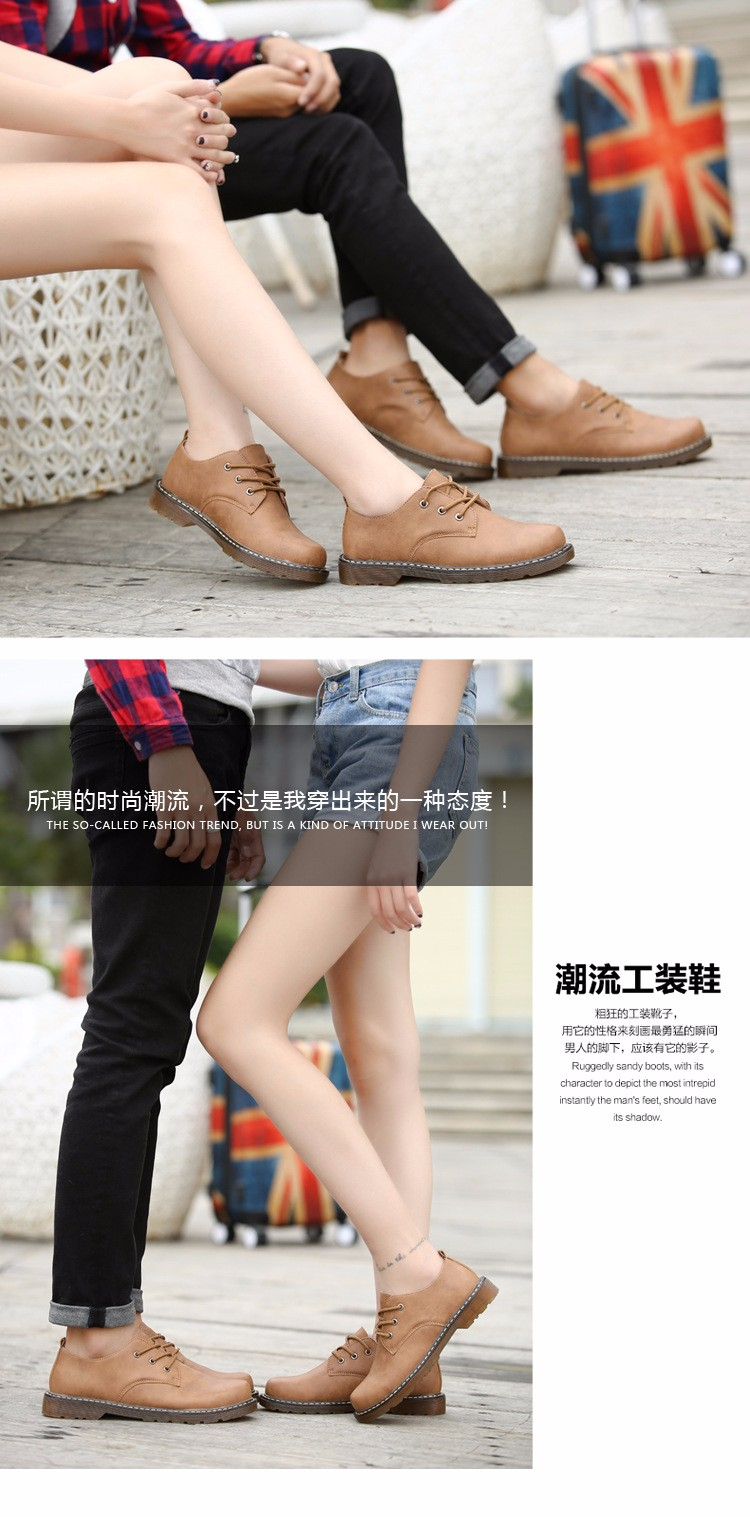 KUYUPP Fashion England Genuine Leather Shoes Women And Men Flats Oxfords Casual Lace Up Ladies Shoes Round Toe Men Loafers PX128 (20)
