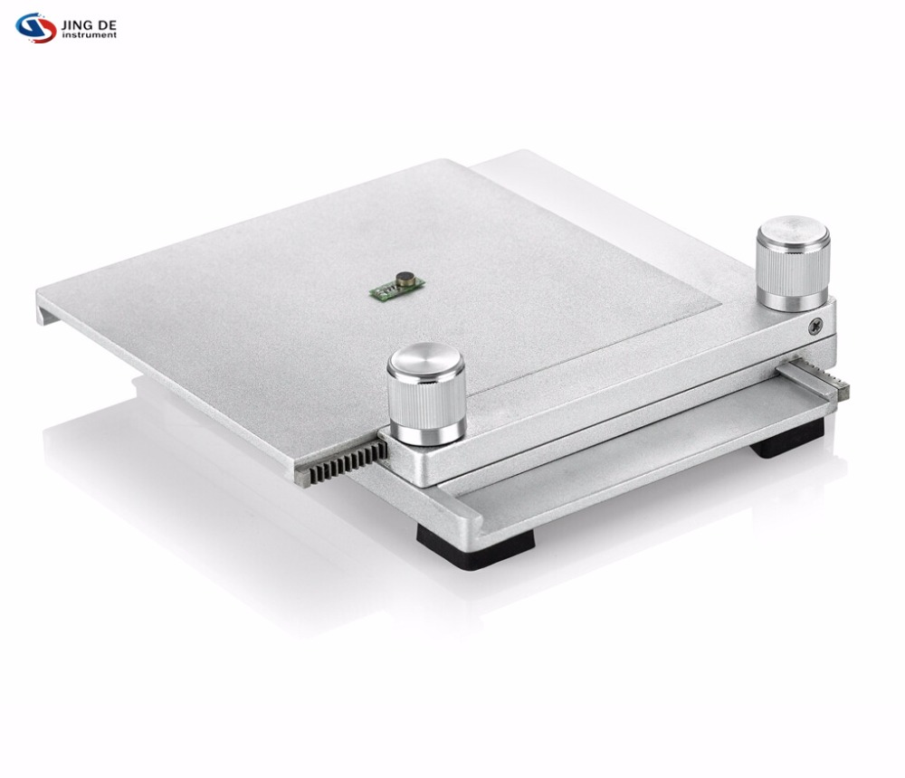 JING DE Microscope platform two-way mobile platform XY travel 40MM 100 * 100 micro-focus mobile phase