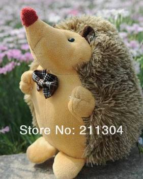 Free Shipping Plush Toy 33cm tall hedgehog couple super cute doll everyone like best gift to your girlfriend or kid(big size)