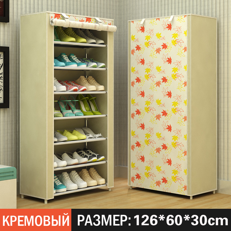 Non Woven Fabrics Large Shoe Rack Organizer Removable Shoe Storage For Home  Furniture Shoe Cabinet Simples Gabinete De Zapatos In Shoe Cabinets From ...