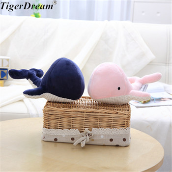 20CM One Piece Soft Whale PP Cotton Baby Plush Toy Creative Dolls Birthday Gifts Cute Whales Children Stuffed Toys 2 Colors stuffed toy