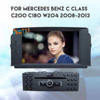 Android 8.0 Car DVD Player GPS navi For MERCEDES BENZ C Class C200 C180 W204 2007 2011 car radio stereo head unit 4+32 Octa Core
