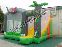 Jumping Castle Commercial Bouncers/ Inflatable Rental Super Bouncer and Slide Castle